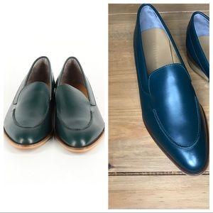 Everlane Modern loafer dark green size 10 1/2 NEW